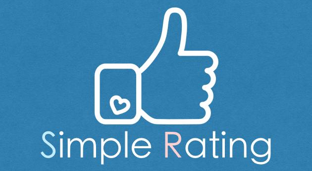 Simple Rating - 記事に評価機能を追加&高評価ランキングを表示