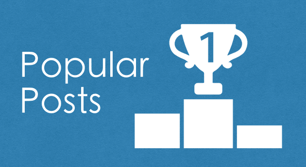 Popular Posts - 日次、週次、月次で表示回数を集計して人気記事を表示