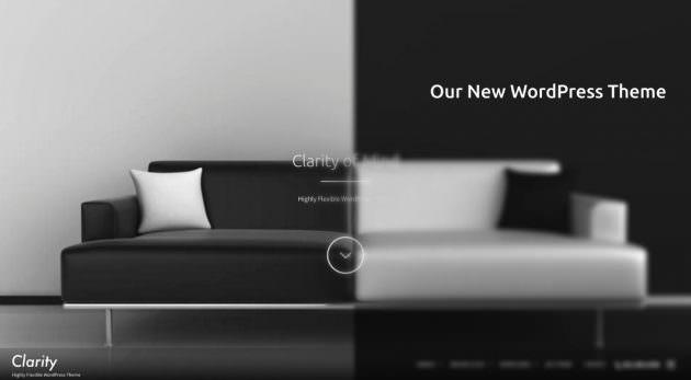 新作WordPressテーマ「Clarity」デモサイトを公開