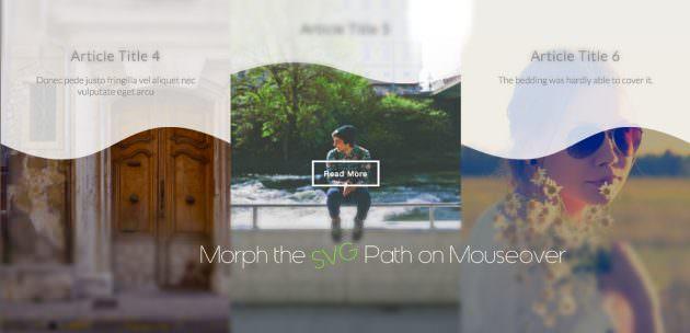 Snap.svgを使ったSVGのパスのモーフィングアニメーションデモ