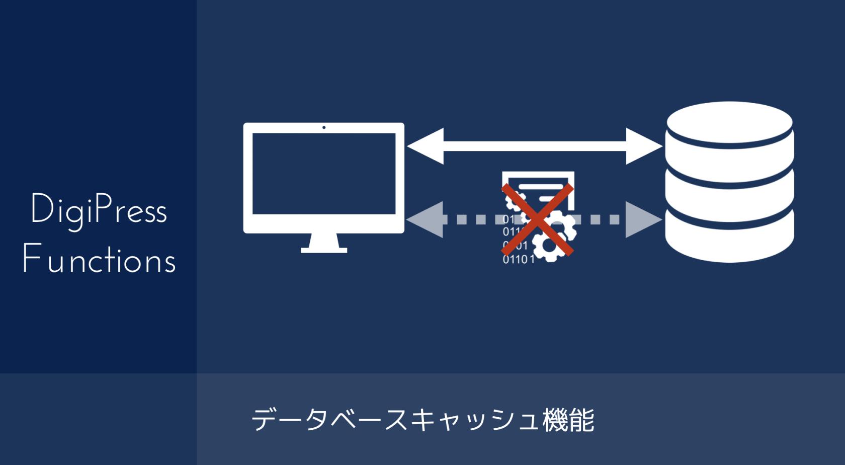 [高速化機能]データベースキャッシュ機能